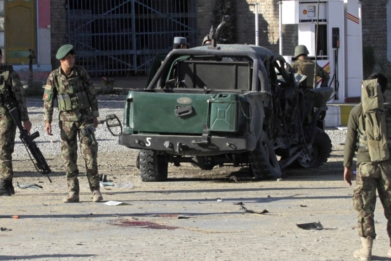10 Afghan Soldiers Killed In Taliban Attacks